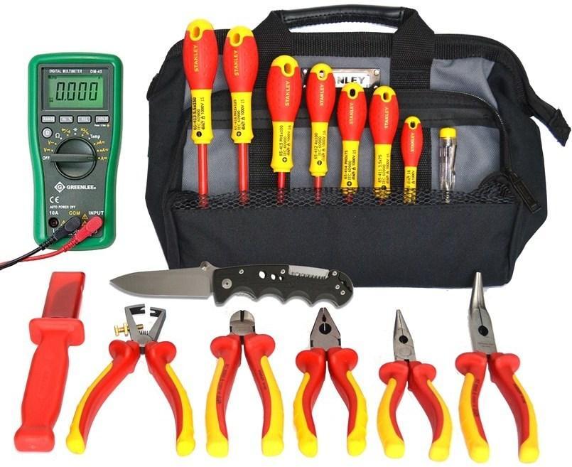 bd3c256a2972 SK-16 B1 - набор изолированного инструмента в сумке 17 предметов